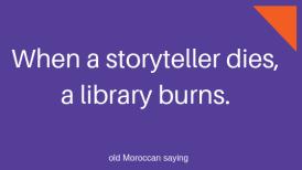 When Storyteller dies